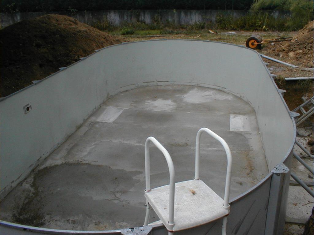 Transformations sur piscines avec polyester arm exemples 6 - Piscine hors sol tole ...